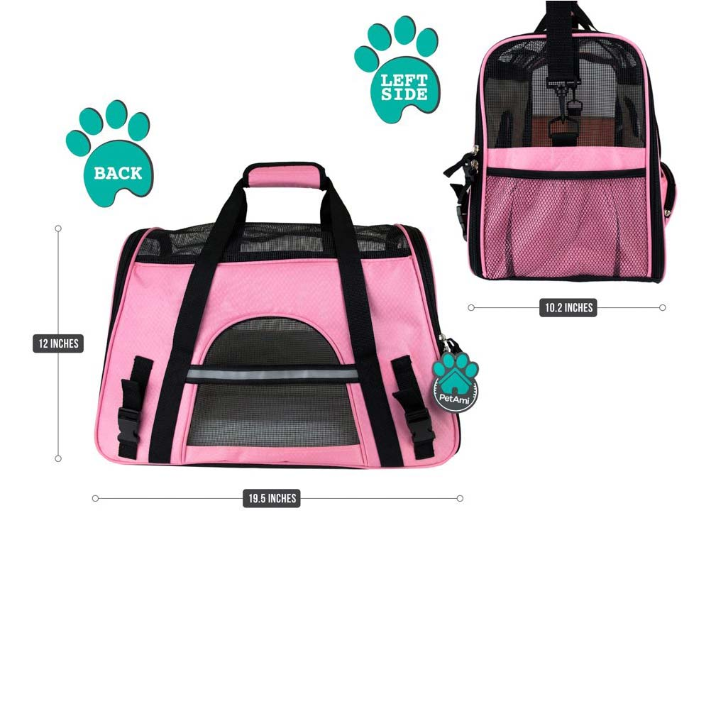 717f6f535b2 Airline Approved Soft-Sided Pet Travel Carrier - MY ESA DOCTOR